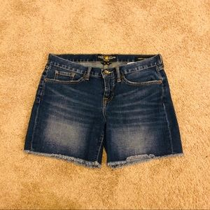 Lucky Brand Abbey Shorts- Size 28